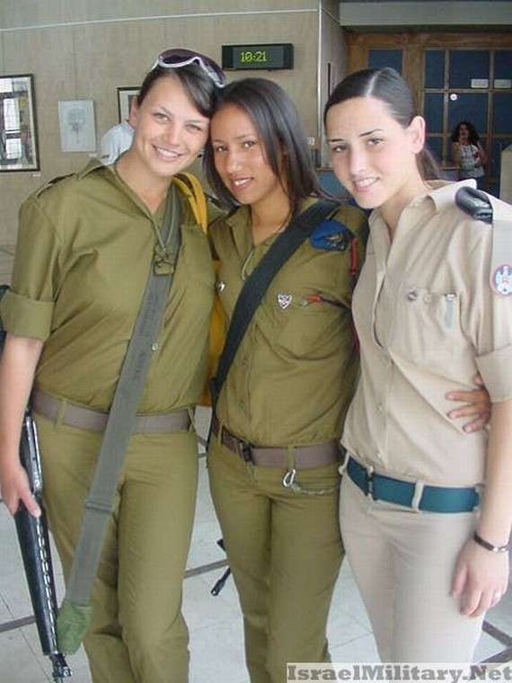 israel+army+military+women