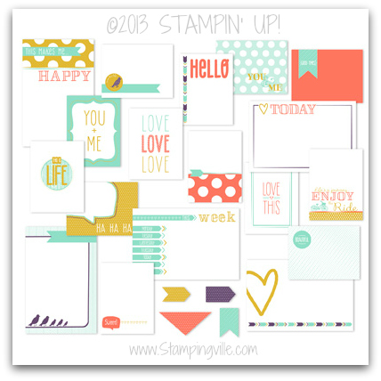 Digital Download by Stampin' Up! This Makes Me Happy Pocket Cards