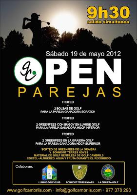 Open Parejas al P&P Cambrils