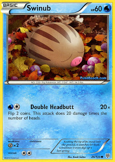Swinub Plasma Storm Pokemon Card