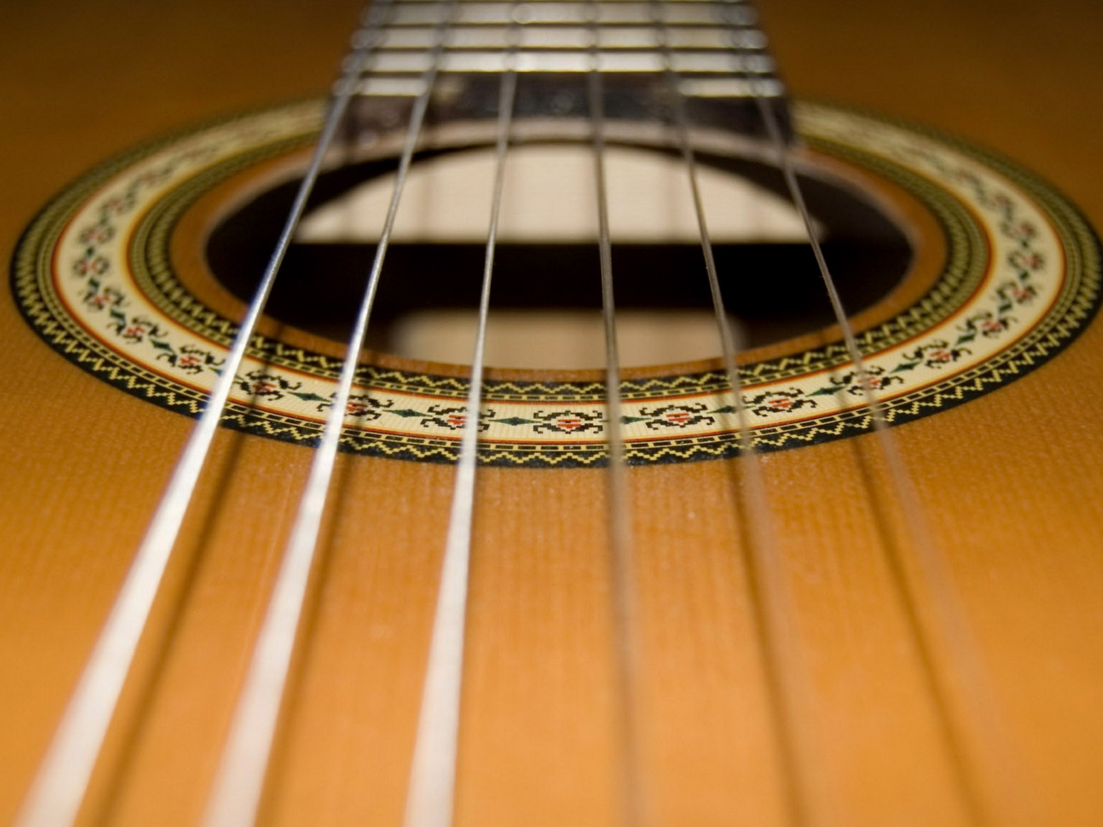 Guitar wallpaper classical guitar soundhole inlay nylon for Classic house string sound