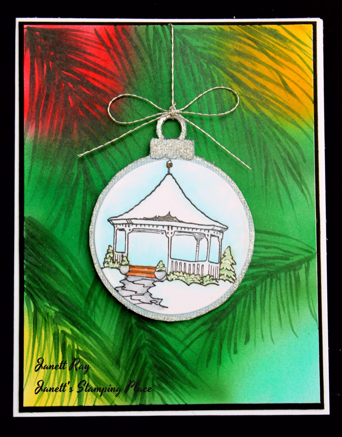 drs designs rubber stamps simple ornament