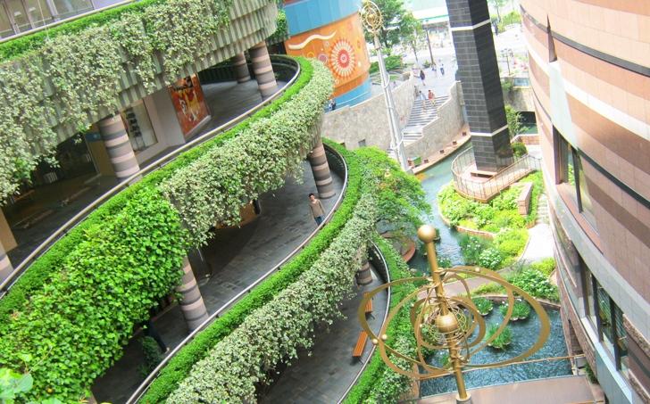 Blog un centro comercial rodeado de for Ejemplos de jardines