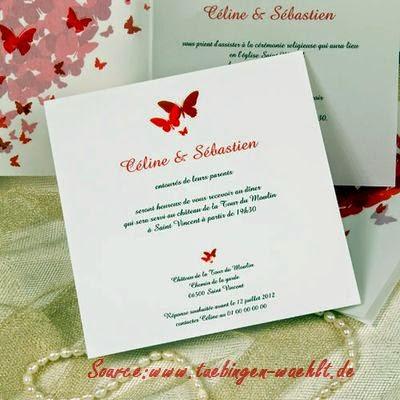 Invitation de mariage modèle