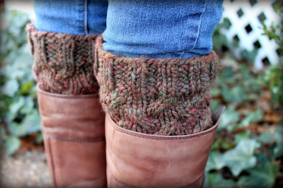 handspun boot toppers