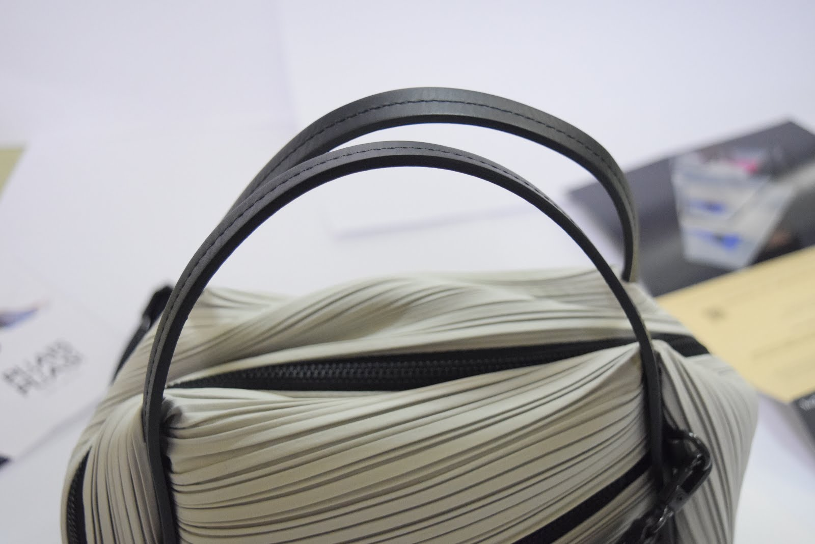 d6384f8e23 Pleats Please Issey Miyake Bias Sling Bag Review