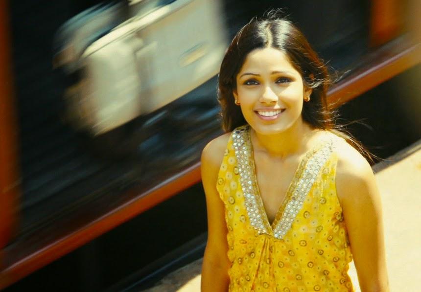 Freida Pinto (Latika) dans Slumdog Millionaire, de Danny Boyle (2008)