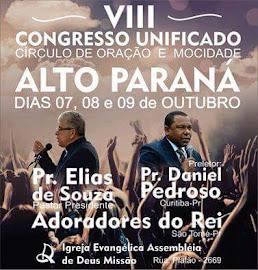 08,09    Alto Paraná  PR Outubro  2016