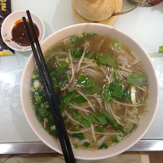 vietnam, otcb on tour, food, pho, soup