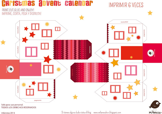 Casitas 1 -Milanesa Calendario de Adviento 2013