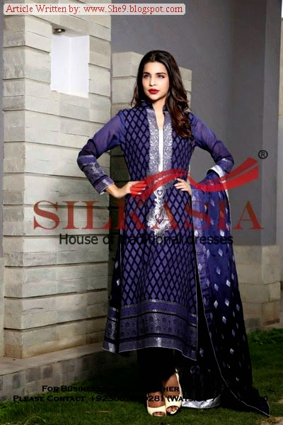 Chiffon and Embroidered Collection 2014