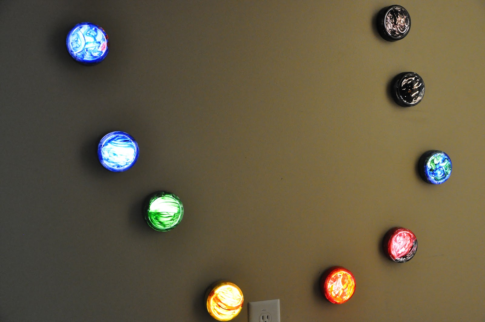 Push light planets activities for children paint play rainy day the solar system through the eyes of a 3 year old he still wants to get a big push light to paint the sun aloadofball Gallery