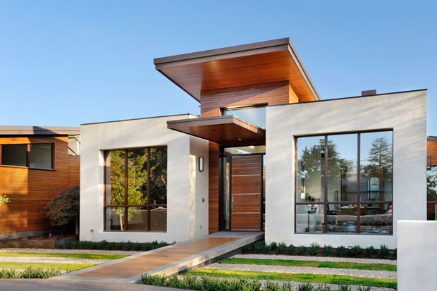 New home designs latest simple small modern homes exterior designs ideas - Simple modern house ...