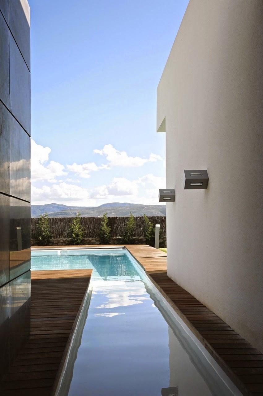 Casa gora estilo minimalista vic projects espa a - Estilo arquitectura contemporaneo ...