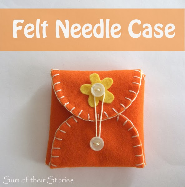 felt needle case tutorial