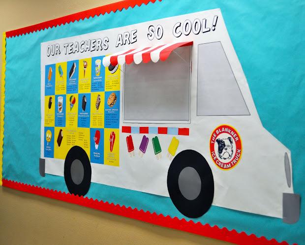 Ice Cream Truck Bulletin Board Ideas