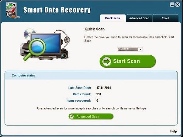Temukan File Hilang dengan Smart Data Recovery 5.0