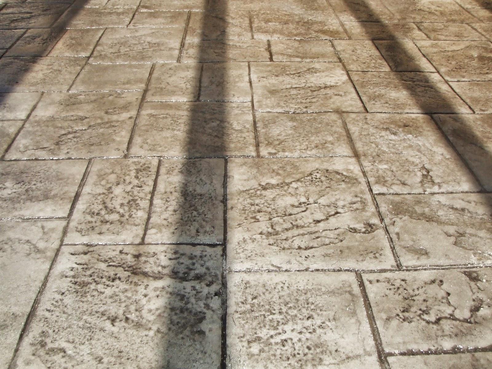 Hormig n impreso piedra de silleria abujardada benitaxell - Hormigon impreso alicante ...