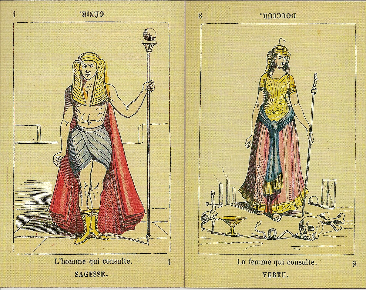 Eno 39 s tarots jeu de la princesse tarot for Anima antiqua