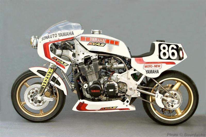 Small Sun Custom Boldor Yamaha Xs1100 Endurance Racer