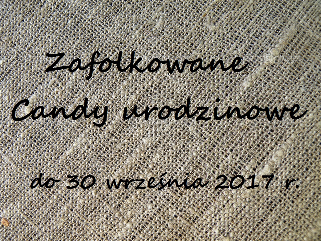 Zafolkowane Candy do 30-09