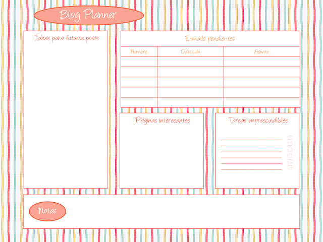 blog planner page 2