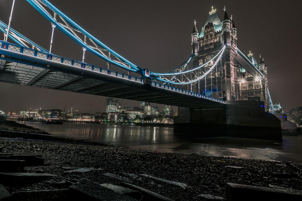 Mud Larking Tower Bridge