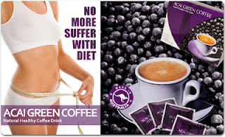 ACAI BERRY GREEN COFFEE - kurus dengan mudah