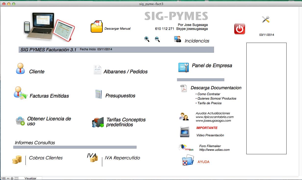 Sig Pyme Facturación