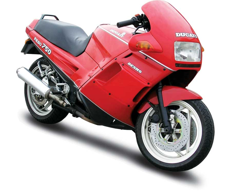 Ducai Manuals Resource  Ducati Paso 750 1986