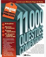 11.000 questões comentadas - Col. Passe em Concursos Públicos