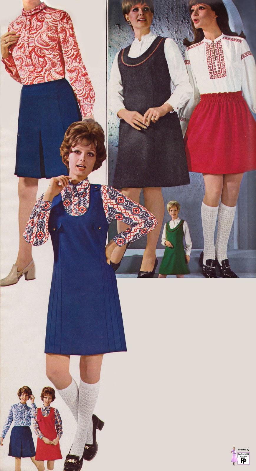 1970 moda: