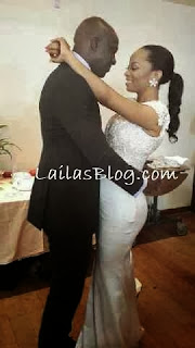 Shocking!!! Pictures From Maje Ayida and Toke Makinwa's wedding.