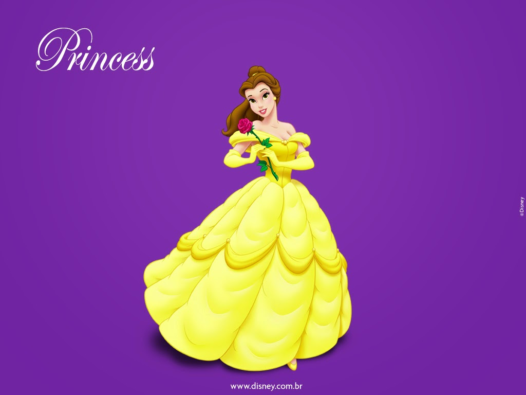 Disney S Belle Images: Free Desktop Wallpaper: Disney Princess Belle Wallpaper