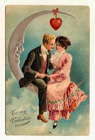Glenda S World Sittin On The Moon Valentine Tag
