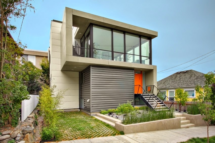 Hogares frescos moderna residencia crocket por pb - Diseno de casas modernas ...