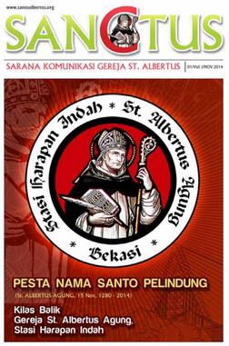 MAJALAH SANCTUS EDISI 01