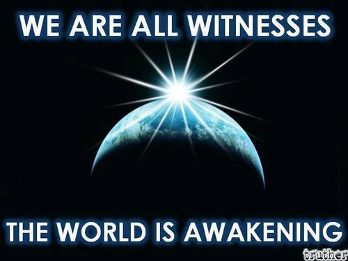 We Are All Witnesses The World Is Awakening Anonymous Art Of Revolution