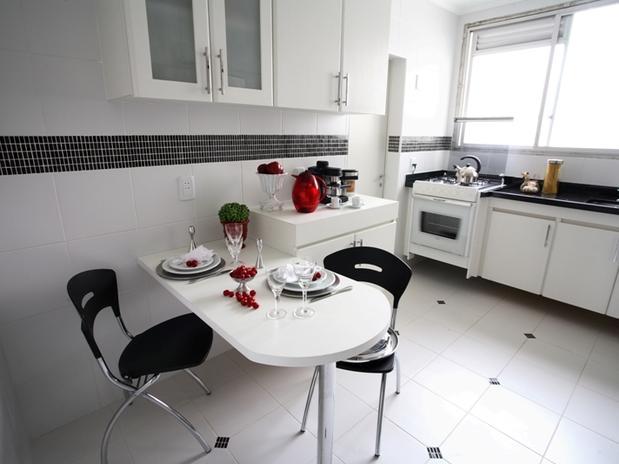 Bistrô da Praça Saiba o piso ideal para sua cozinha # Azulejo De Cozinha Preto E Branco