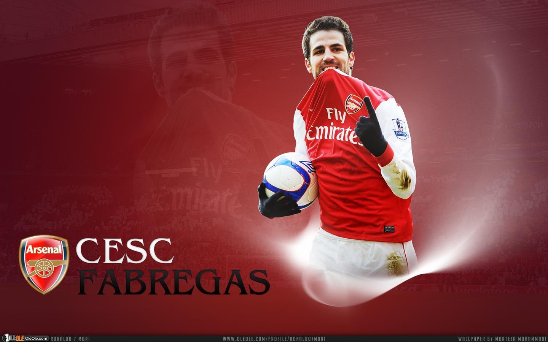 Arsenal wallpaper fabregas