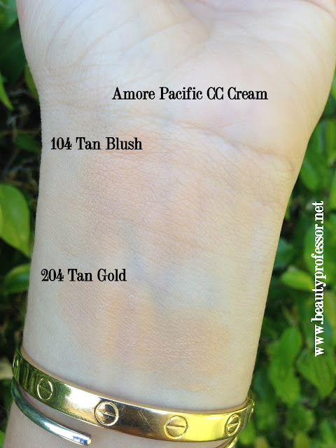 Amore pacific color control cushion compact swatches