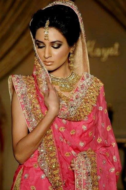 Hajra Hayat Bridal Dress Collection 2014 - For Mehndi Function