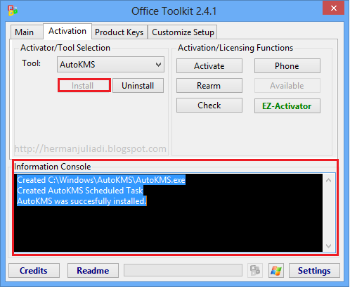 Download microsoft toolkit versi 2 4 1 activator all - Office 2013 toolkit and ez activator ...