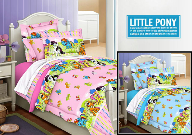 Sprei Renette Anak Motif Little Pony