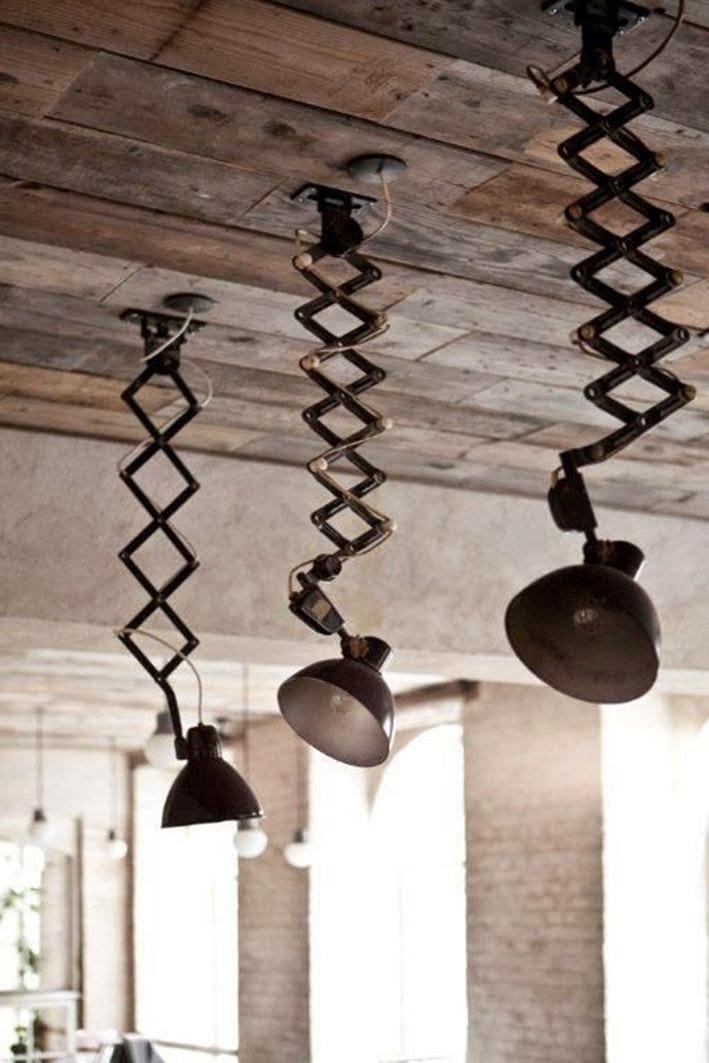 lamparas industriales antiguas de techo