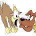Ο γάτος, ο σκύλος και ο πονηρός πόντικας...