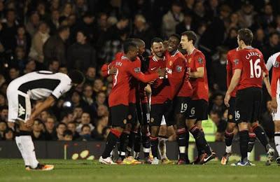 Fulham 0 - 5 Manchester United (1)
