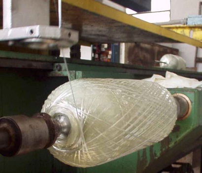 Filament winding bobinado de filamento tecnolog a de for Estanque fibra de vidrio