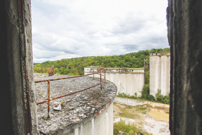 Abandoned Cement Factory : Abandoned cement factory the dainty squid