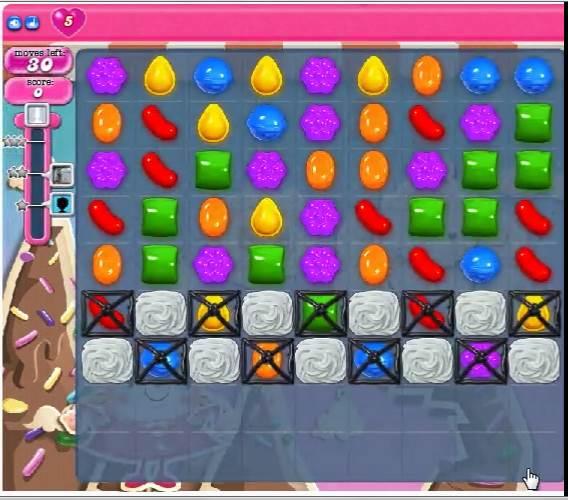糖果粉碎传奇第36关 Candy Crush Saga Level 36